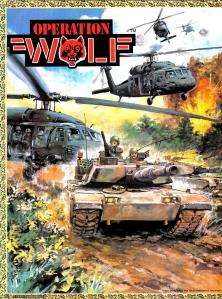 Fairly nice oil painting for the Operation Wolf Preview