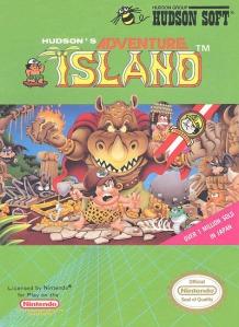 Hudson's Adventure Island Box Art