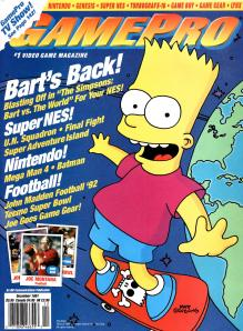 Magazine GamePro - The Simpsons_ Bart vs. The World V3 #5 (of 12) (1991_12) - Page 2