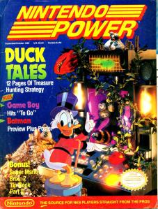 Magazine Nintendo Power - Duck Tales V2 #2 (of 6) (1989_9) - Page 1