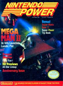 The Cover of Nintendo Power #7
