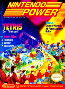 The cover of Nintendo Power #9