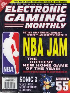 Magazine Electronic Gaming Monthly - NBA Jam V7 #2 (of 12) (1994_2) - Page 1
