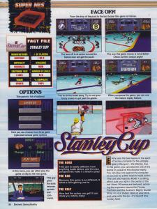 Nintendo's NHL Stanley Cup, now with Mode 7 graphics and a low camera angle!
