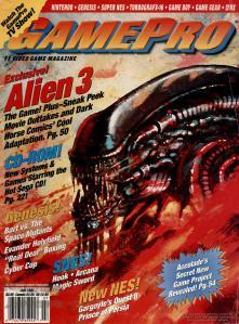 Magazine GamePro - Alien3 V4 #7 (of 12) (1992_7) - Page 1