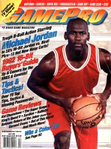 Magazine GamePro - Michael Jordan V4 #4 (of 12) (1992_4) - Page 2