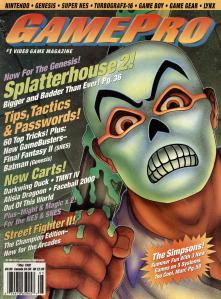 Magazine GamePro - Splatterhouse V4 #5 (of 12) (1992_5) - Page 1