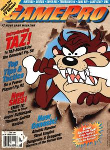 Magazine GamePro - Taz-Mania V4 #6 (of 12) (1992_6) - Page 2