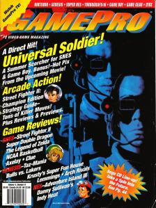 Magazine GamePro - Universal Soldier V4 #8 (of 12) (1992_8) - Page 2
