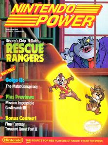 Magazine Nintendo Power - Chip & Dale's Rescue Rangers V3 #1 (of 6) (1990_7) - Page 1