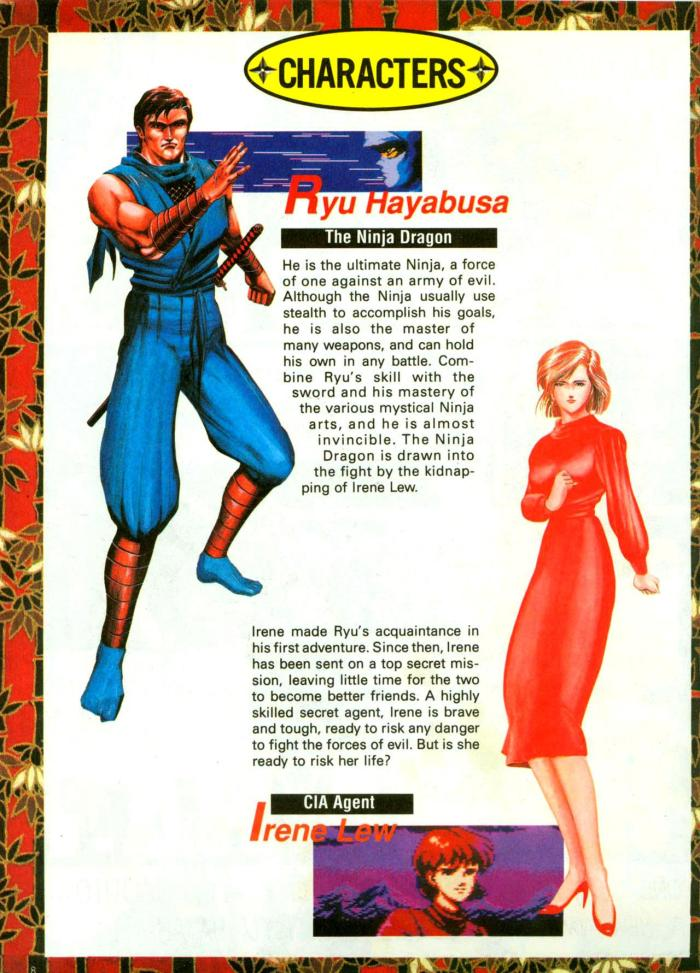 National Representatives of Fighting Games Magazine-nintendo-power-guides-ninja-gaiden-ii-dark-sword-of-chaos-v1-2-of-6-1990_8-page-8