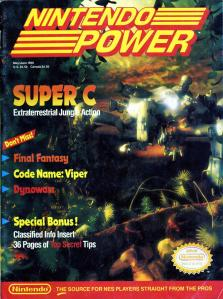 Magazine Nintendo Power - Super C V2 #6 (of 6) (1990_5) - Page 1