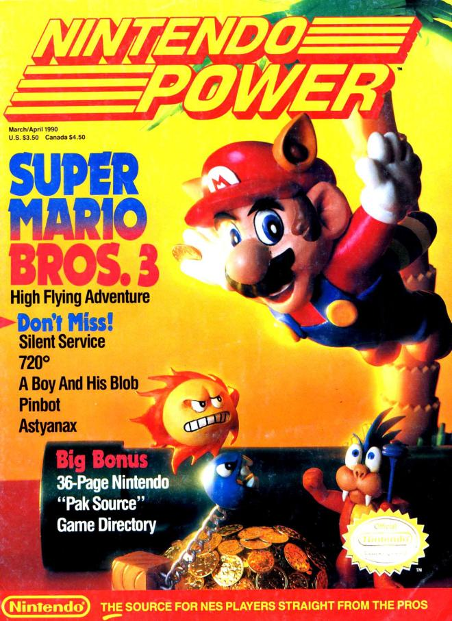Magazine Nintendo Power - Super Mario Bros 3 V2 #5 (of 6) (1990_3) - Page 2