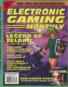 Magazine Electronic Gaming Monthly - Legend of Zelda 3_ A Link to the Past V4 #12 (of 12) (1991_12) - Page 1