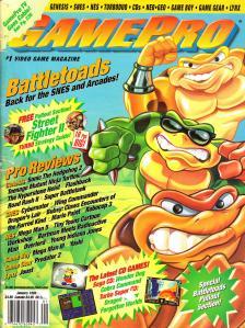 Magazine GamePro - Battletoads V5 #1 (of 12) (1993_1) - Page 1