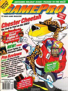 Magazine GamePro - Chester Cheetah V4 #12 (of 12) (1992_12) - Page 1