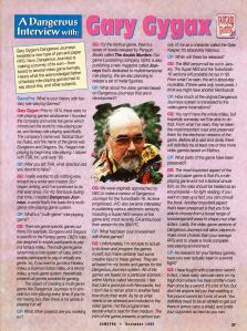 GamePro's Interview with Gary Gygax