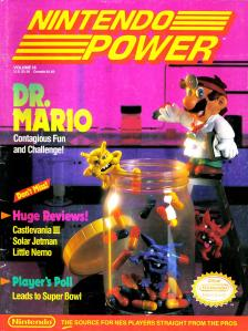 Magazine Nintendo Power - Doctor Mario V3 #3 (of 6) (1990_11) - Page 1