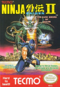 Ninja Gaiden II - The Dark Sword of Chaos Box Art