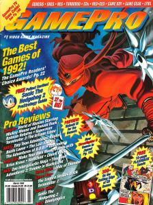 Magazine GamePro - 1992 Year In Review V4 #3 (of 12) (1993_3) - Page 1