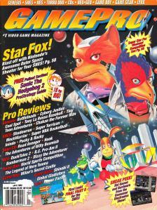 Magazine GamePro - Starfox V5 #4 (of 12) (1993_4) - Page 1