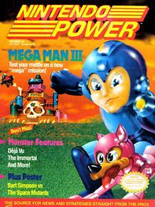 Magazine Nintendo Power - Mega Man III V4 #1 (of 12) (1991_1) - Page 1