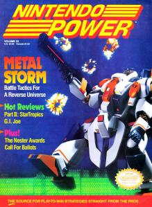 Magazine Nintendo Power - Metal Storm V4 #3 (of 12) (_3) - Page 1
