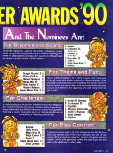 The First 3 Categories of the Nester Awards