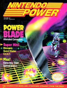 Magazine Nintendo Power - Power Blade V4 #4 (of 12) (1991_4) - Page 1