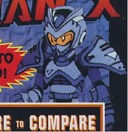 Early Mega Man X Design