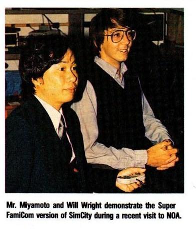 Will Wright and Shigaru Miyamoto