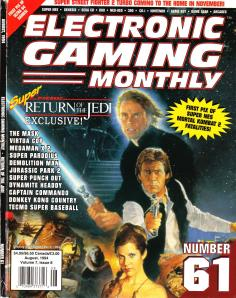 Magazine Electronic Gaming Monthly - Super Return of the Jedi V7 #8 (of 12) (1994_8) - Page 1