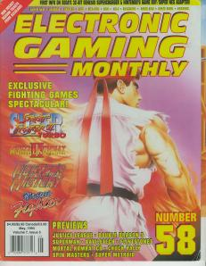 Magazine Electronic Gaming Monthly - Super Street Fighter II Turbo V7 #5 (of 12) (_5) - Page 2