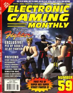 Magazine Electronic Gaming Monthly - Virtua Fighter V7 #6 (of 12) (1994_6) - Page 1