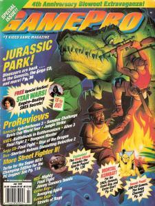 Magazine GamePro - Jurassic Park V5 #7 (of 12) (1993_7) - Page 1