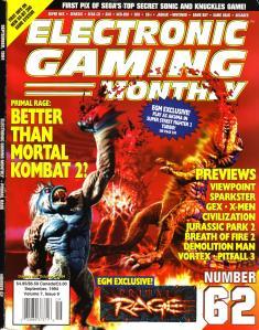 Cover for EGM #62