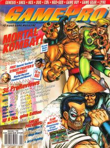 Magazine GamePro - Mortal Kombat V5 #9 (of 12) (1993_9) - Page 1