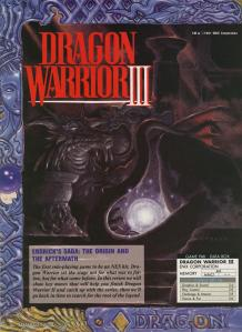 The first page of the Dragon Warrior III Guide
