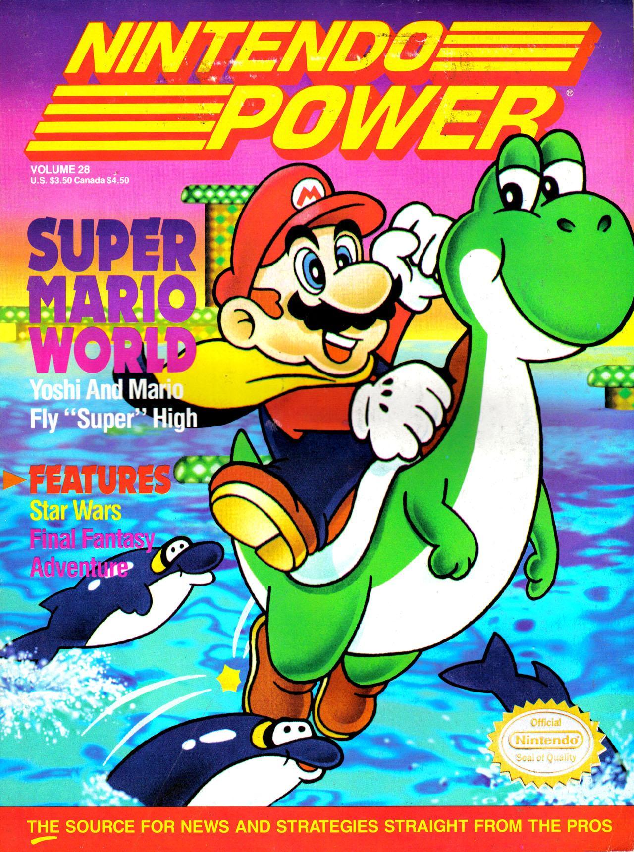Nintendo Power Magazine Volume 12 May/Jun 1990 Super C *Excellent*