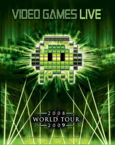 Video Games Live 2008-2009 Tour poster