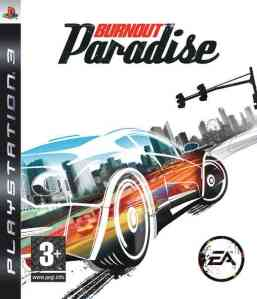 The Cover art from the PS3 version of Burnout Paradise