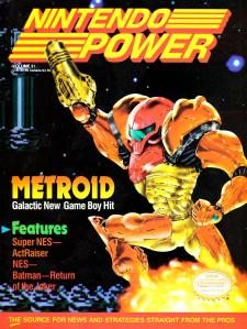 Cover for Nintendo Power 31