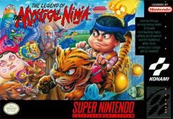The Box Art for Legend of the Mystical Ninja
