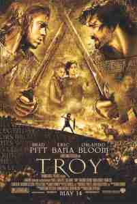 Movie Poster for the film Troy