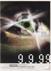 The classic 9.9.99 ad for the Dreamcast