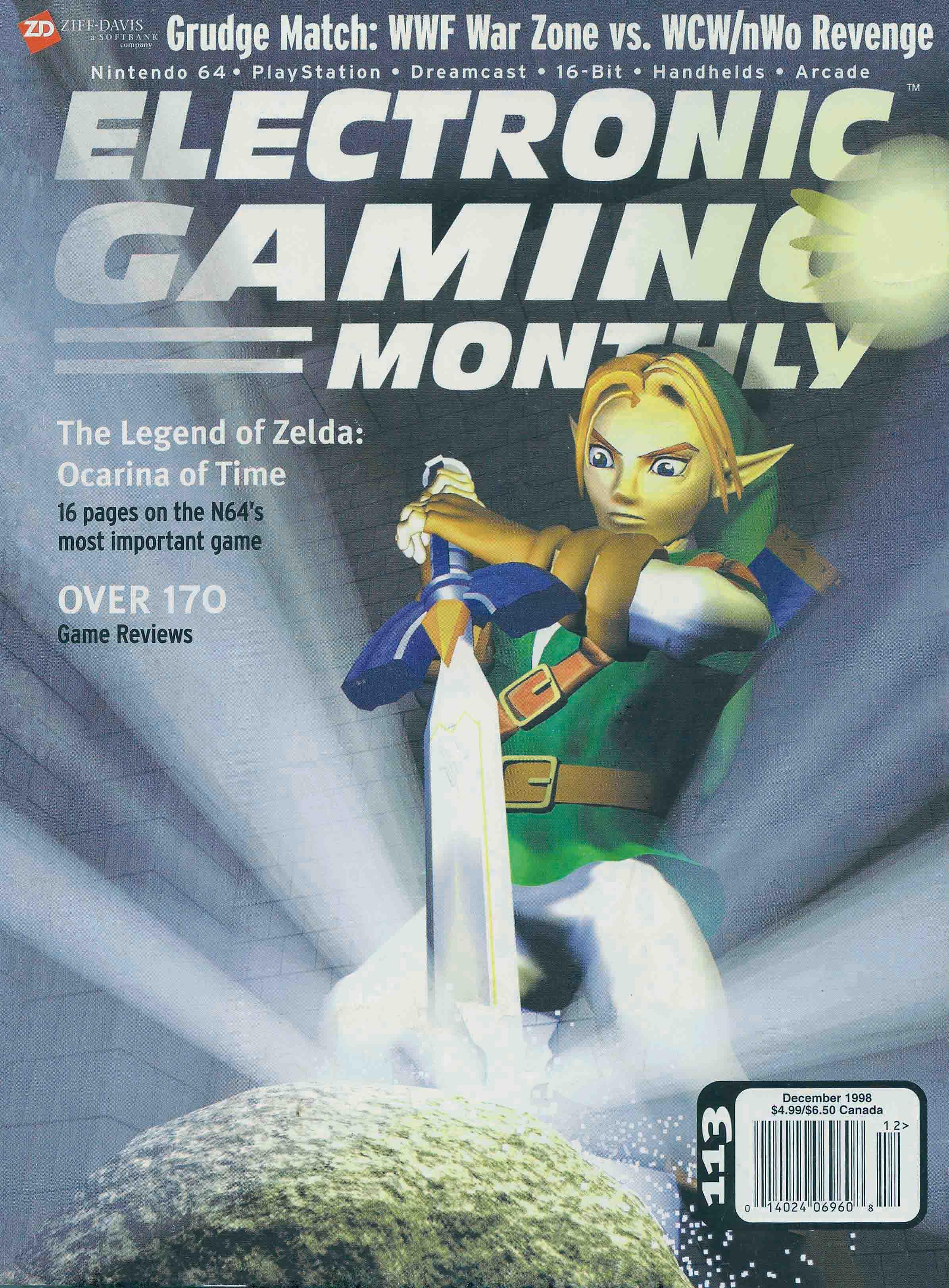 Electronic Gaming Monthly Issue 113