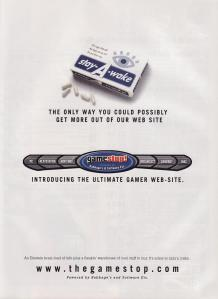 The first GameStop ad in EGM