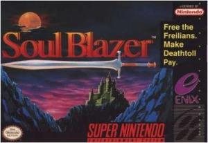 Soul Blazer US Box art