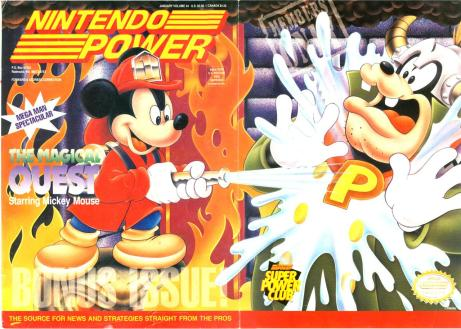 The cover of the ONLY issue of Nintendo Power I own...at least until #285 comes out.