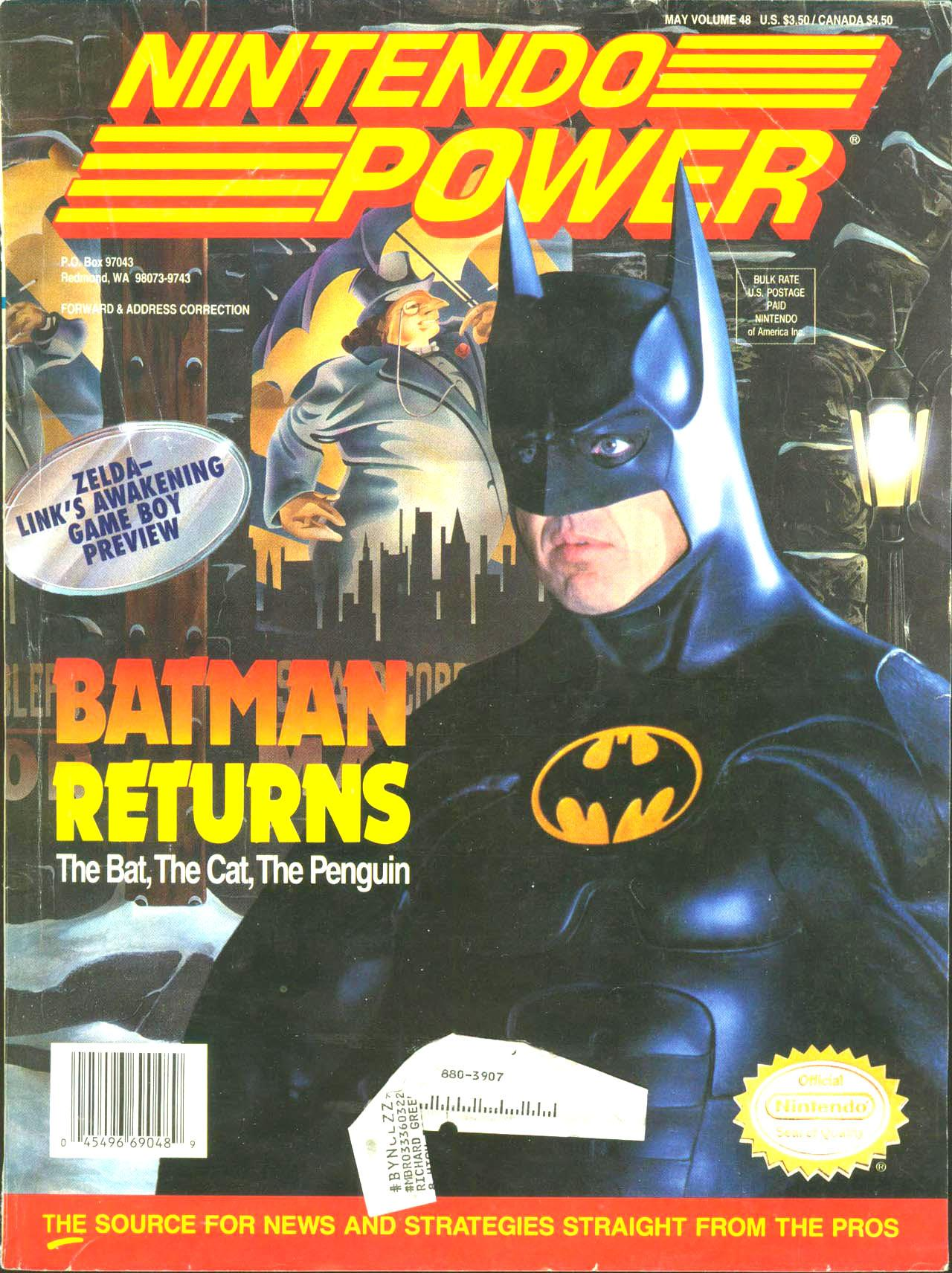 Where I Read Nintendo Power 48 Breaking It All Down